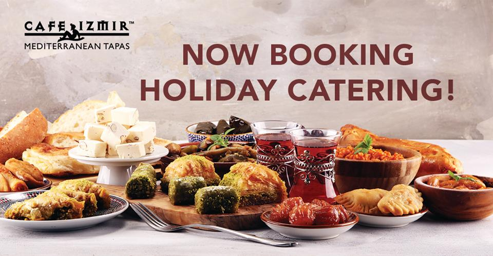 Cafe Izmir Holiday Catering
